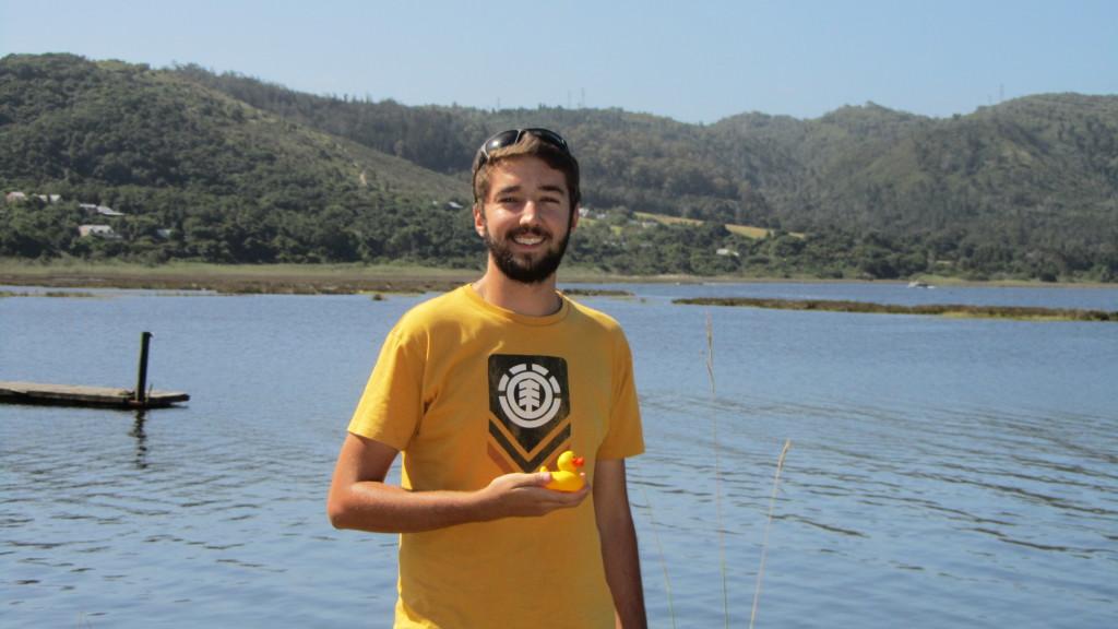 First prize winner, Steven Naude from Knysna